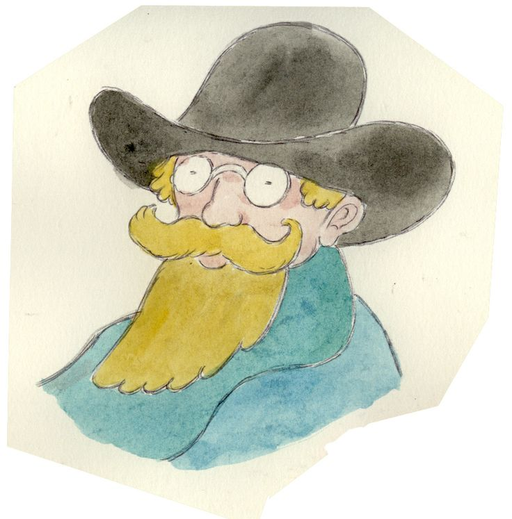 Drawings of Composers: Eric Satie
