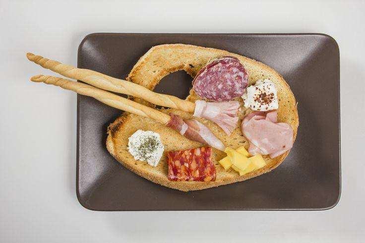 #VisualFood tavolozza di salumi e formaggi