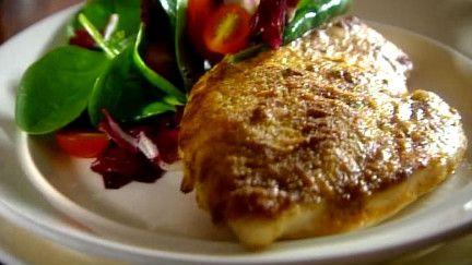 Escalopes de poulet simplissime au parmesan - Recettes - À la di Stasio