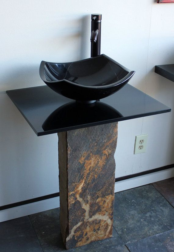 9 Best Unique Stone Bathroom Sinks Images On Pinterest Stone Bathroom Bathroom Sinks And