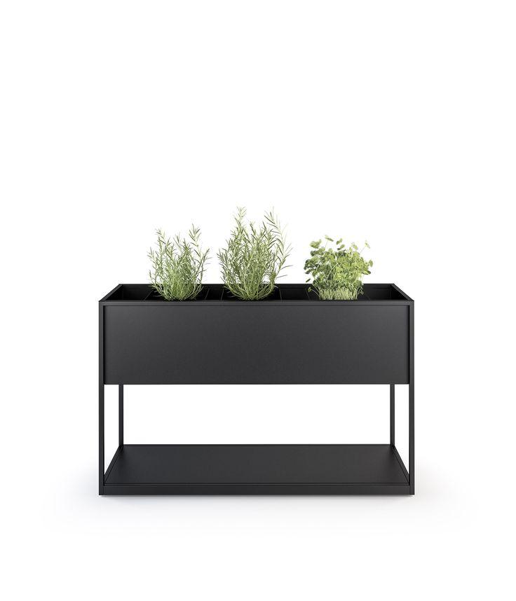 Fioriera in metallo CARL PLANTERS by Röshults design BRDA - BROBERG & RIDDERSTRÅLE