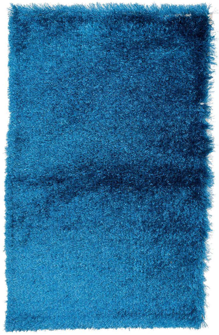 3x4 Ocean Blue Shag Rug