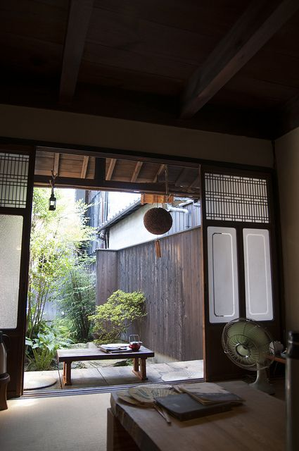 Traditional Japanese home [ Barndoorhardware.com ] #Asian #hardware #slidingdoor