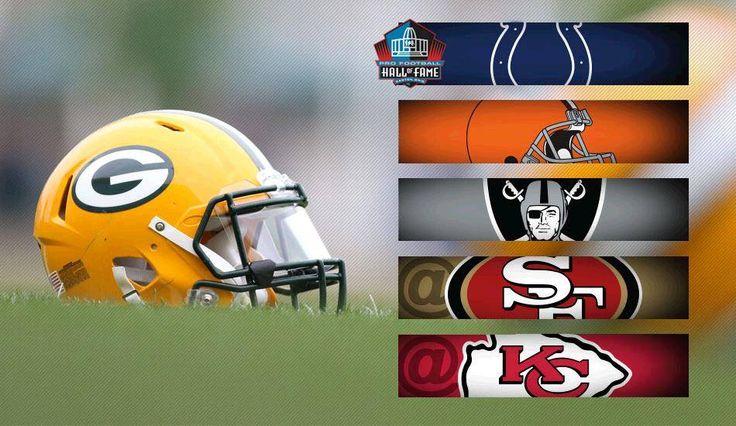 The Packers 2016 Preseason schedule.