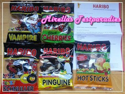 Mein riesiges Naschpaket von HARIBO – Lakritz in vielen Variationen.