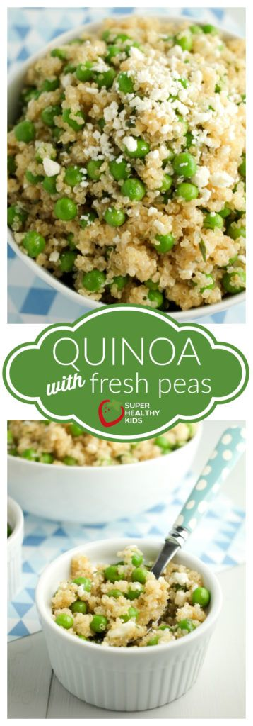 Quinoa with Fresh Peas Recipe | Healthy Ideas for Kids
