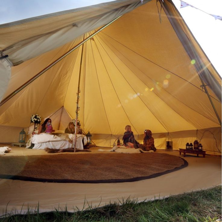 Half moon Bell Tent Coir Matting - Boutique Camping from Boutique Camping UK