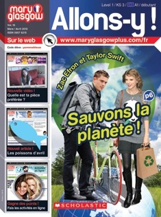 This Level 1 French magazine immerses beginners in the language and culture of French-speaking countries. Articles about today's hottest celebrities and teen-interest topics inspire students to read and write in French. Plus, two FREE audio CDs help develop accent and nuance. Subscriptions (10 or more copies) include Teacher's Editions, interactive language CDs, and access to comprehensive digital resources. Grades 6-12, Monthly $7.99 per student.