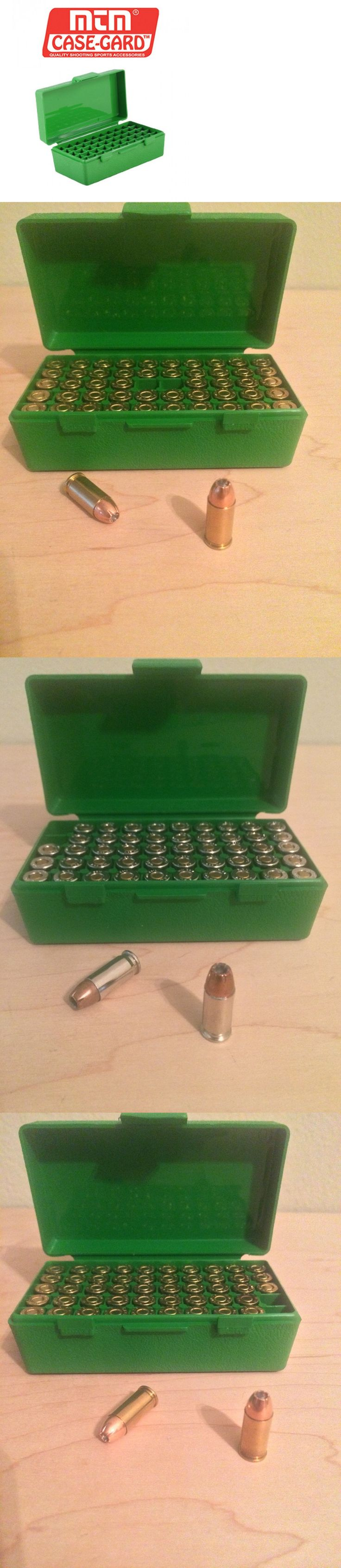 Ammunition Cases and Cans 177886: .32 Acp (.32 Auto) Ammo Storage Cases - Set Of Six (6X) Mtm P50-32-10 -> BUY IT NOW ONLY: $150 on eBay!