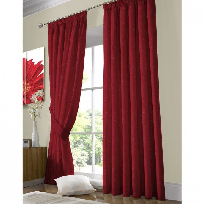 JACQUARD PENCIL PLEAT FULLY LINED CURTAINS - New Arrivals | Poundstretcher