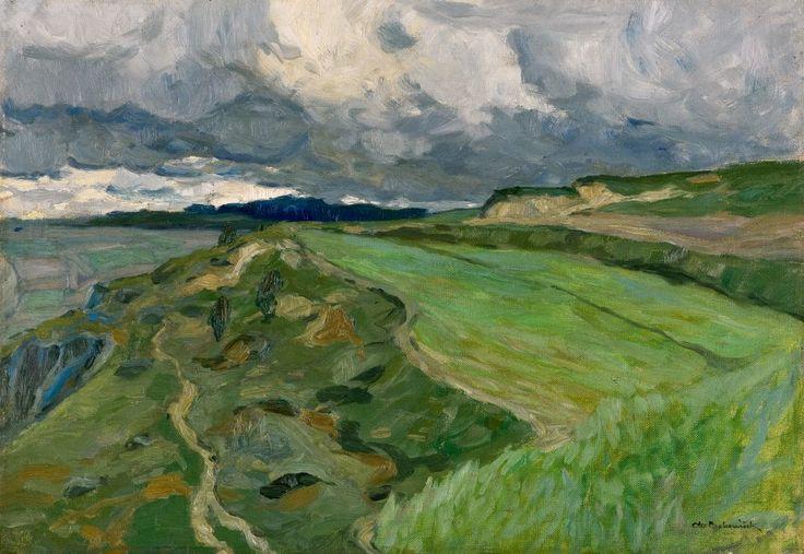 OTA BUBENÍČEK (1871-1962) Green meadows