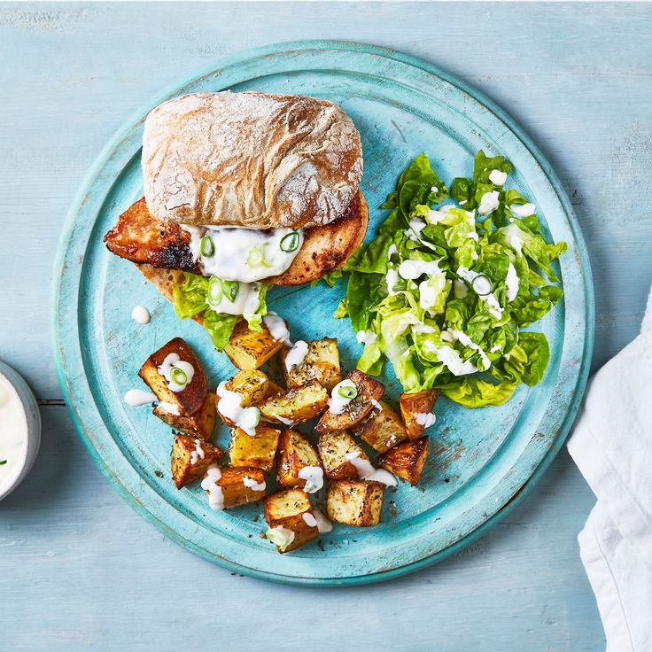 A quick and easy Crusty Chicken Ciabatta Burger recipe, from our authentic British cuisine collection. Find brilliant recipe ideas and cooking tips at Gousto