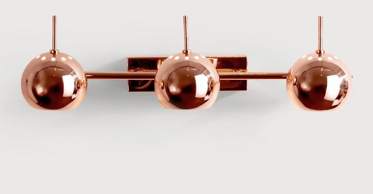 Austin Spot Wall Light, Copper