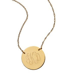 west avenue jewelry monogram disk necklace: Monograms Jewelry, Disk Necklaces, Gold Monograms Necklaces, Bridesmaid Gifts, Everyday Necklaces, Gold Necklaces, Closet, Accessories, Monograms Lov