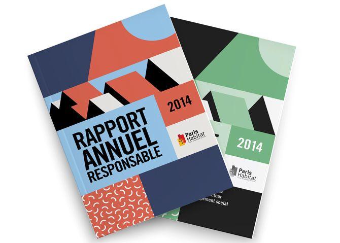 PARIS HABITAT Rapport annuel responsable 2014 - Agence Simone / Stratégie & Image de marque