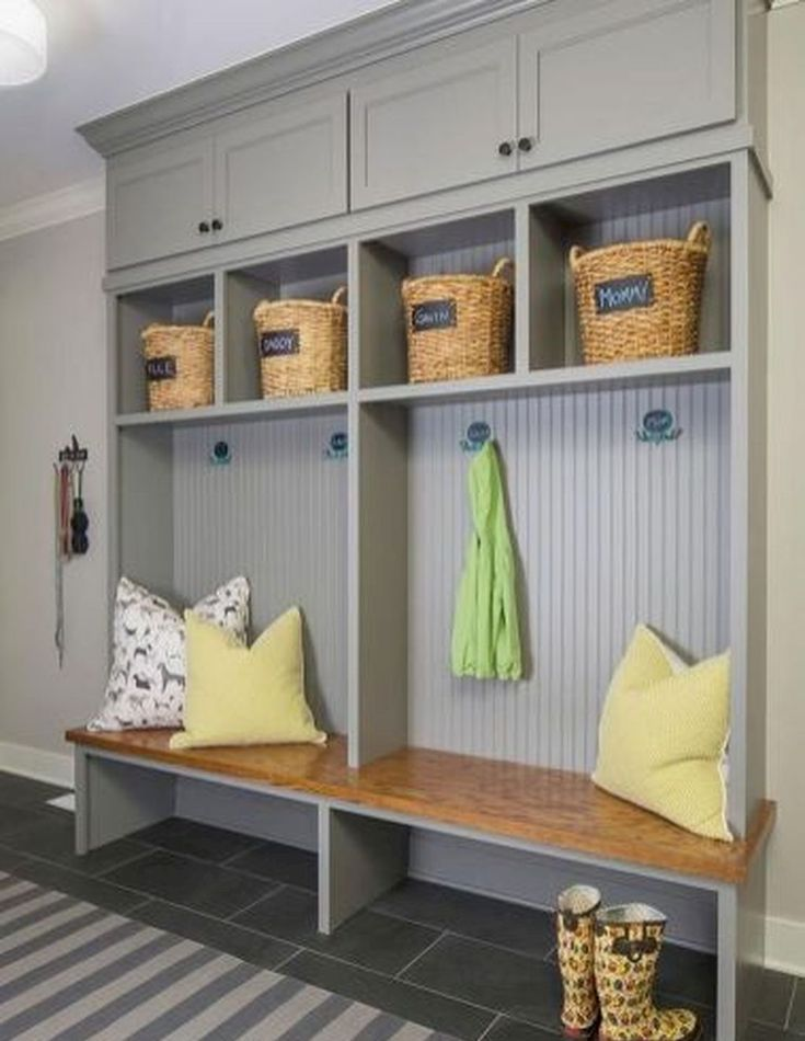 75 Rustic Farmhouse Mudroom Bench Ideas Mudroom Design Mudroom Lockers Mudroom Laundry Room