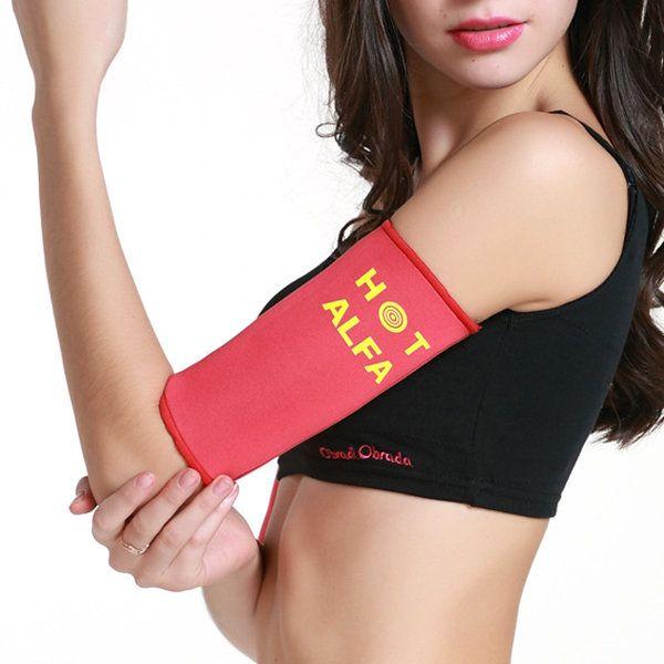 Sports Arm Shaper Sauna Sweat Slimming Arms Warmer Belt Fat Burn Calories Fitness Weight Loss