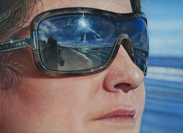Pinturas de retratos realistas de Simon Hennessey | Criatives | Blog Design, Inspirações, Tutoriais, Web Design