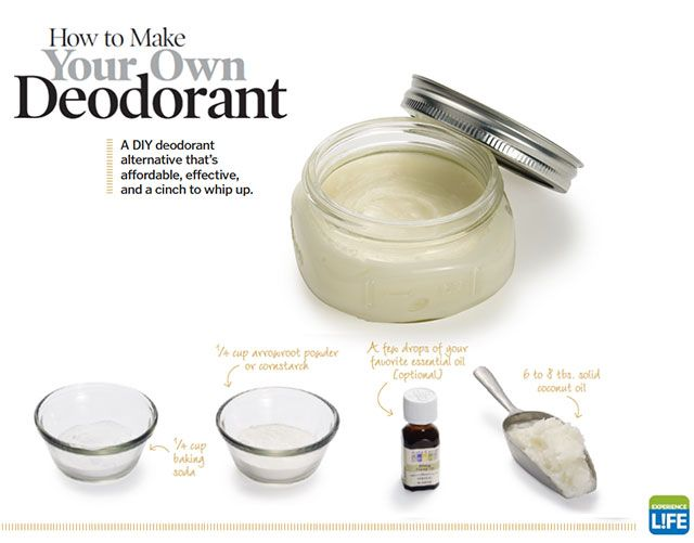 A DIY deodorant alternative that's affordable, effective, and a cinch to whip up.