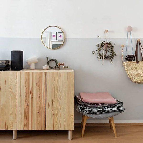 Schöner Stauraum: 5 einfache IKEA-Hacks | Ivar schrank ...