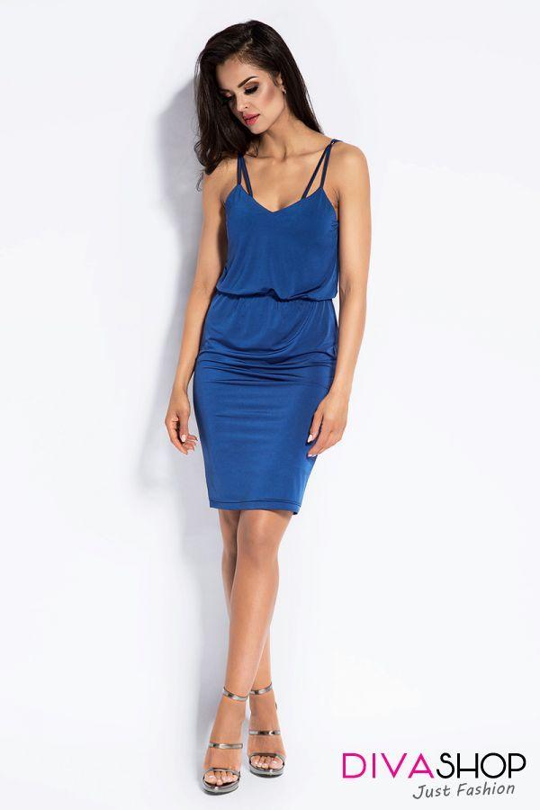 Rochie de ocazie eleganta albastru