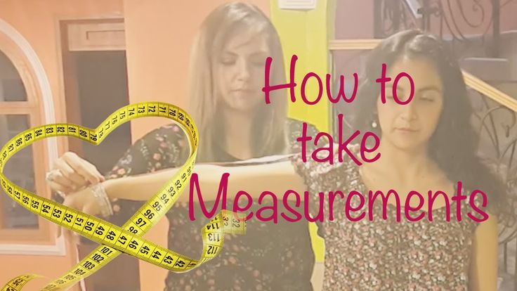How to take measurements For pattern Making