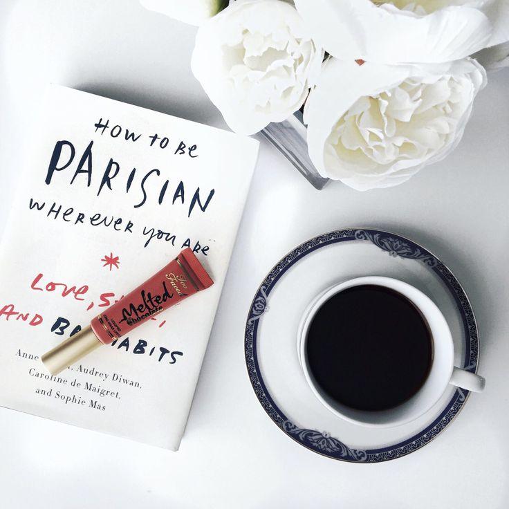 Makeup, fashion, books, flatlay, coffee, curvy fashion blogger for women over 35,