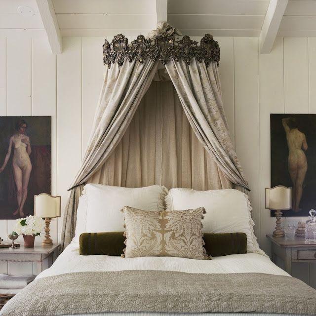 13 best Bed crowns images on Pinterest | Bedding, Bedroom ...