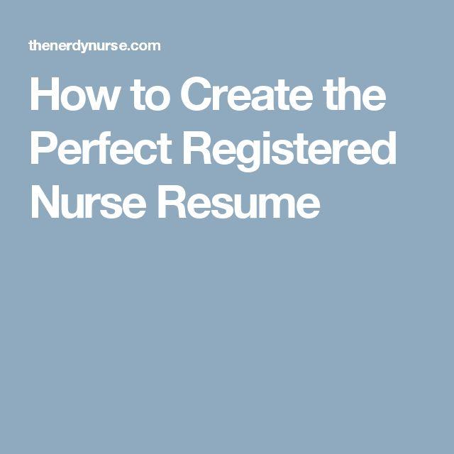 Ponad 25 najlepszych pomysłów na Pintereście na temat tablicy - resume for a nurse