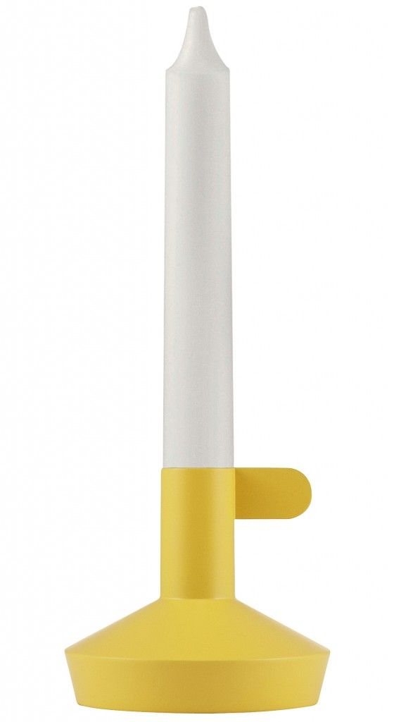 Normann Copenhagen Flag Candle Holder Yellow