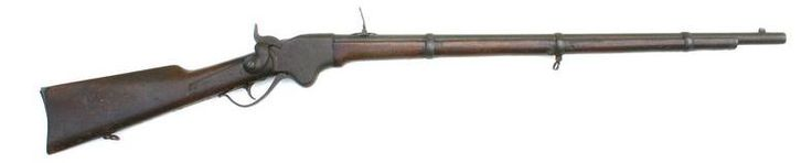 This Spencer Rifle Was Found On The Bank Of The Appomattox River Just After The Civil War