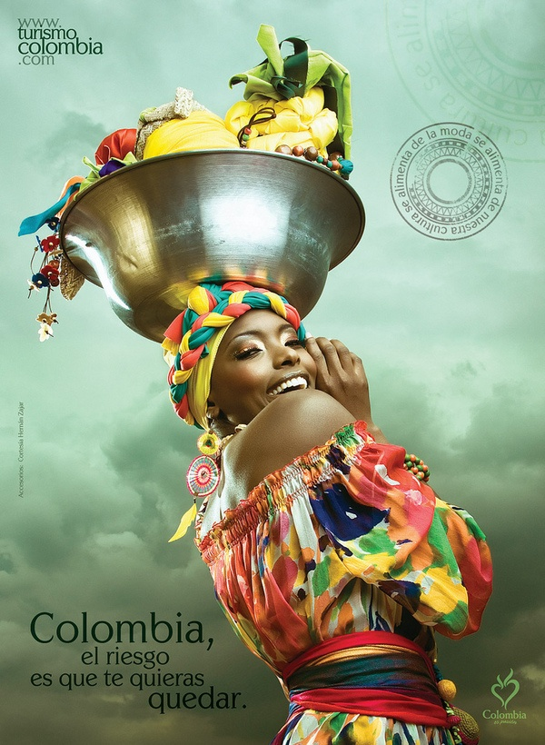 Colombia, the only risk is wanting to stay by Juan David Jaramillo, via Behance Love it!