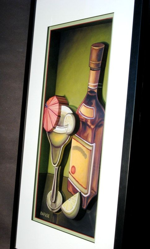 Lime Margarita in 3D - Art by CiracoFramers on Etsy
