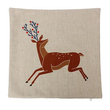 Nordic décoration taie d'oreiller linge de taille couverture canapé coussin chez Banggood