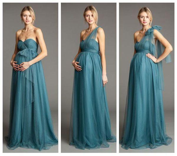 10 Pretty Perfect Convertible Bridesmaid Dresses
