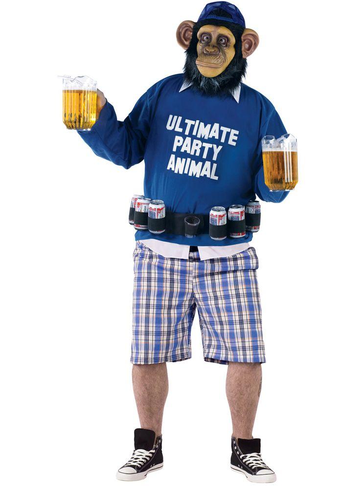 El mayor catálogo online para comprar disfraz de primate fiestero para hombre talla grande. Precios muy económicos, envío 24 horas y devolución garantizada.