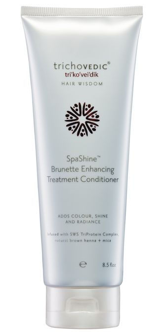 Brunette Enhancing Treatment Conditioner - available in 250ml & 2Lt. A rich instant acting enhancing treatment conditioner for Keratin Smoothing Treatment aftercare and brunette hair. Incorporating FadeProtect+ Shine Complex, Natural Brown Henna and FD&C Brown and Red to enhance colour, add incredible shine and protect colour. Infused with KWS TriProtein Complex, macadamia, argan and jojoba oils, shea butter, aloe vera, panthenol and silcare. pH3.5-4. After shampooing with Brunette Enhancing…