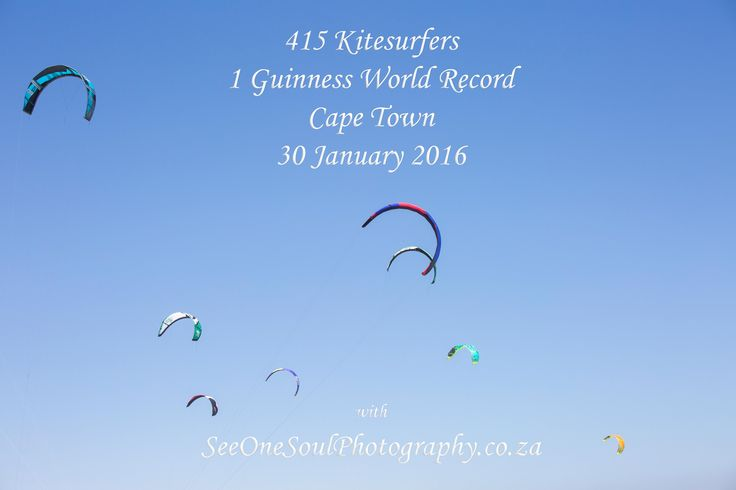Virgin Kitesurfing Armada South Africa - World Record Smash