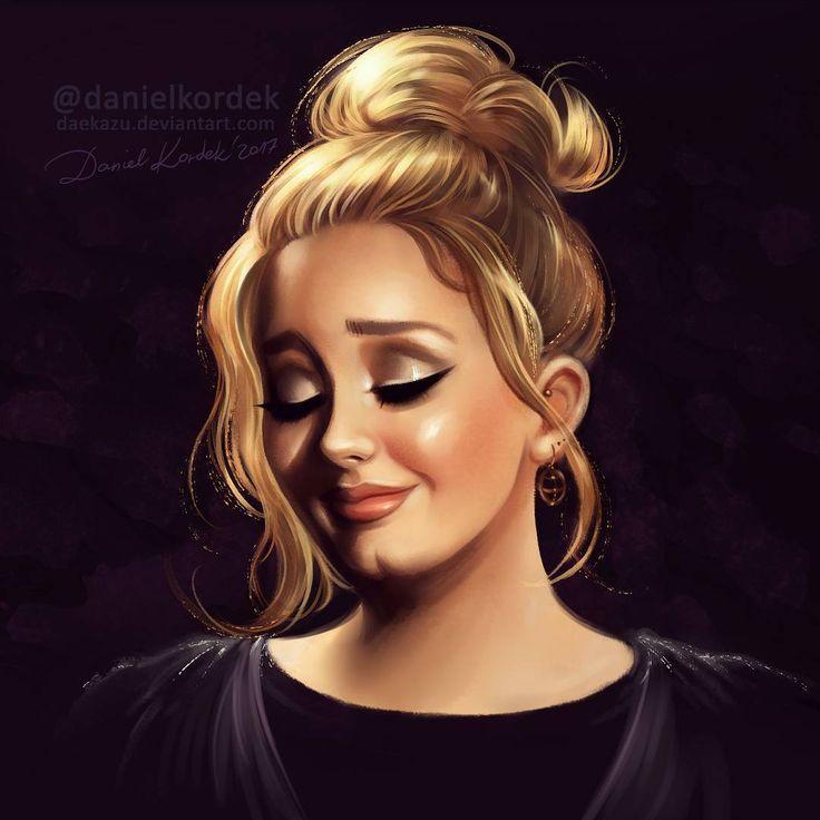 """2,473 Likes, 34 Comments - Daniel Kordek (@danielkordek) on Instagram: """"Adele at Grammys 2017 during her performance """"Fast Love"""" (tribute of George Michael)... #adele…"""""""