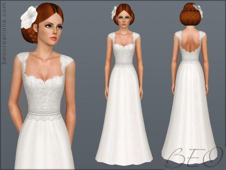 Sims 3 robe de mariage