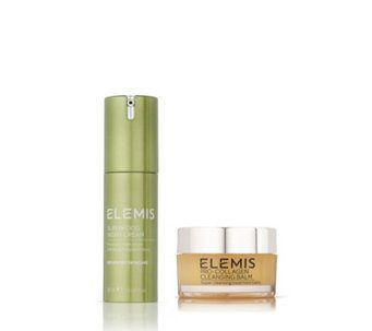 235361 - Elemis Superfood Night Cream & Cleansing Balm Replenish Duo - QVC PRICE: £31.00 RRP: £108.00  Event Price: £27.58+ P&P: £3.95  This Replenish skincare duo from Elemis features the new Superfood Night Cream designed to help hydrate, soothe and balance your complexion while you sleep, plus iconic Pro-Collagen Cleansing Balm for a thorough, pampering cleanse.