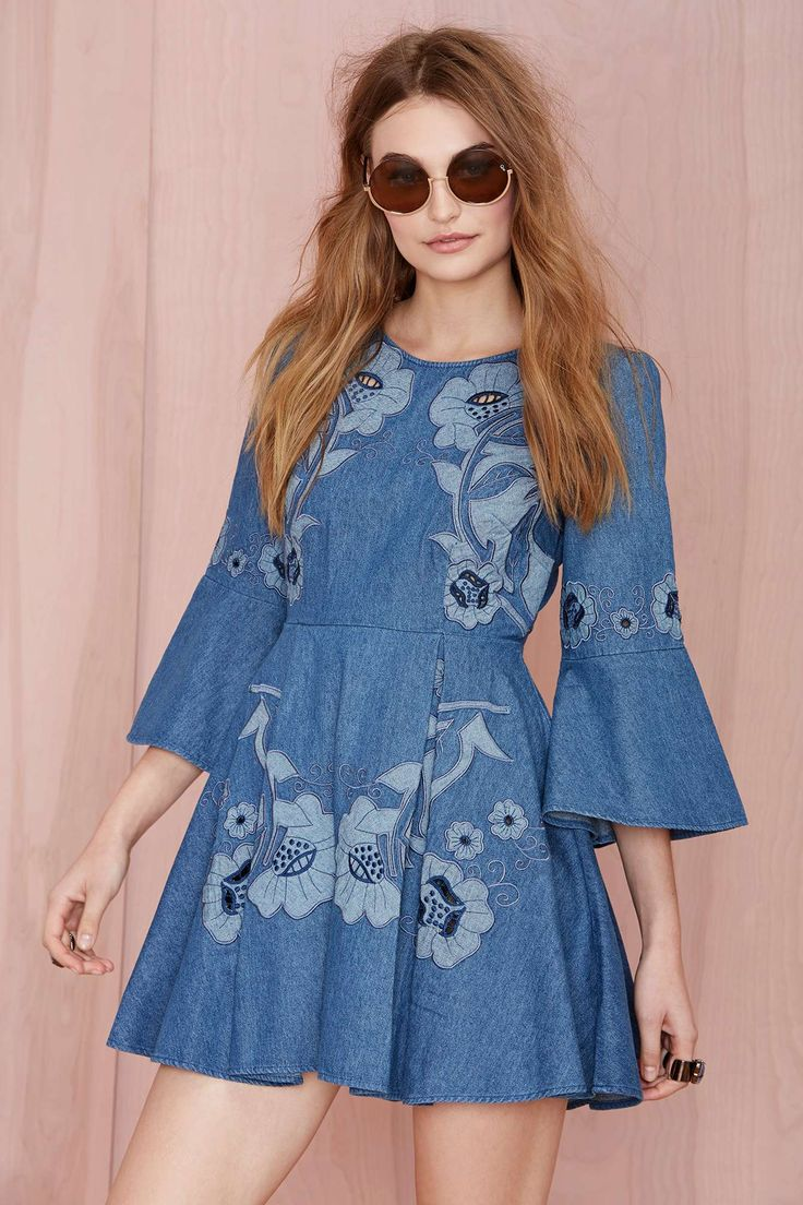 Alice McCall Paloma Denim Dress | Shop Clothes at Nasty Gal