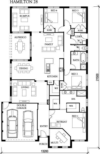 16 best Floor Plans images on Pinterest | House design, House ...
