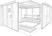 How to Build a Sauna | DIY Prefab Modular Sauna Kit