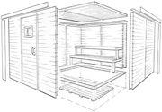 How to Build a Sauna | DIY Prefab Modular Sauna Kit