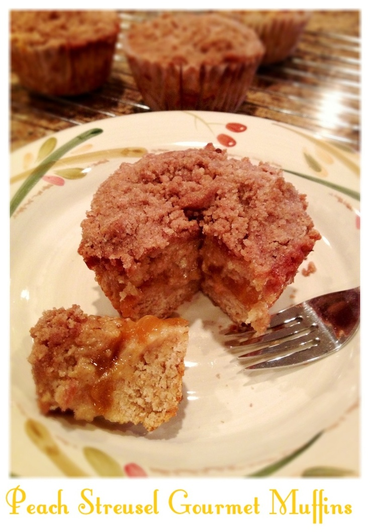 ... Streusel topping. These are XL muffins, so I doubled the recipe. Yummy