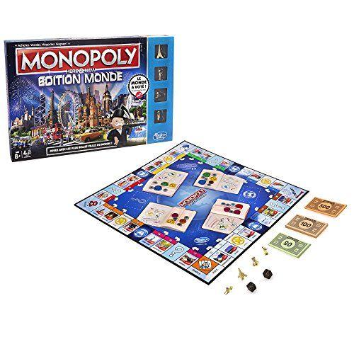 Hasbro – B23481010 – Jeu De Société – Monopoly Monde