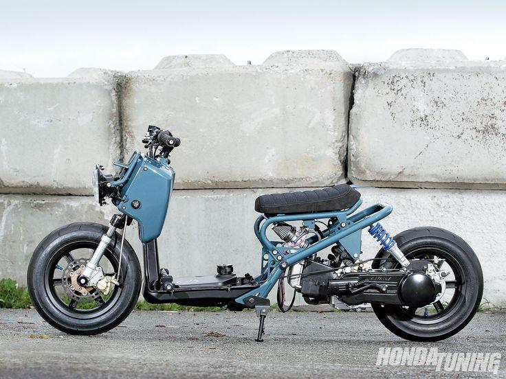 rukus modified   2009 Honda Ruckus Side Shot