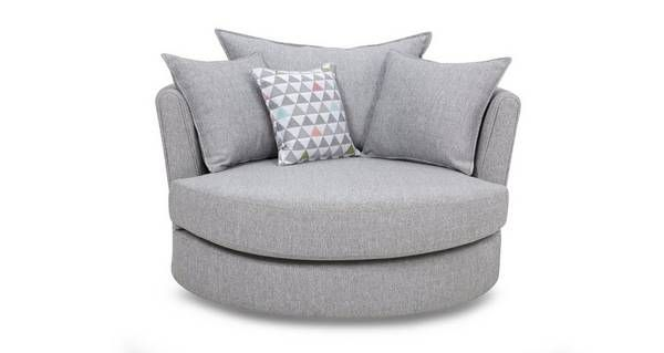 Lydia Large Swivel Chair | DFS | Swivel chair, Seater sofa ...