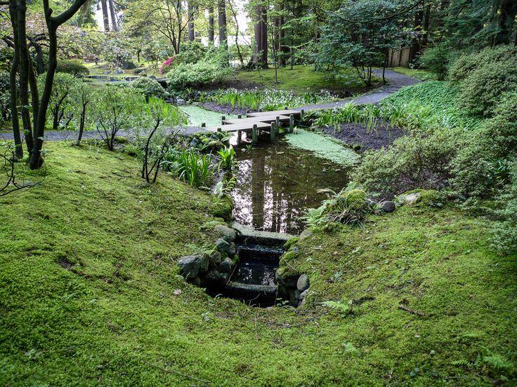 Nitobe Memorial Garden - small bridge. Vancouver, BC  #Vancouver #UBC #VancouverGardens #exploreBC #veryVancouver #gardens #JapaneseGarden #exploreBCgardens #gardentourism #Canada #日本庭園